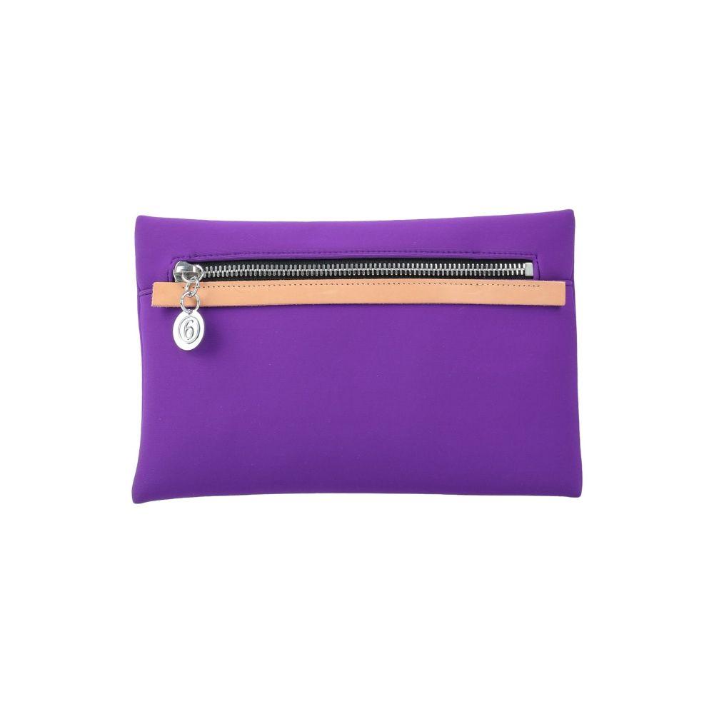 メゾン 新色 マルジェラ MM6 MAISON 品質保証 MARGIELA レディース handbag Purple ハンドバッグ バッグ