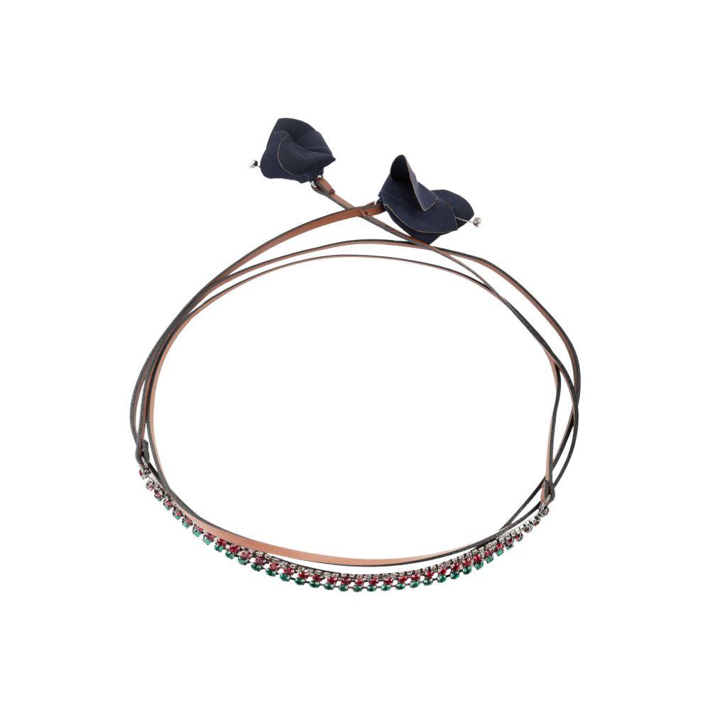 マルニ MARNI レディース ネックレス ジュエリー・アクセサリー【necklace】Brown