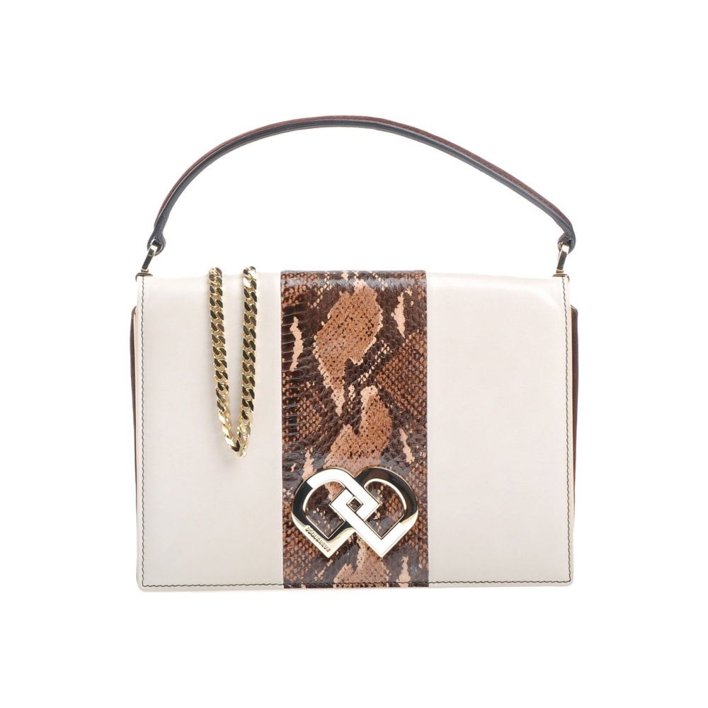 ディースクエアード DSQUARED2 レディース ハンドバッグ バッグ【handbag】Ivory
