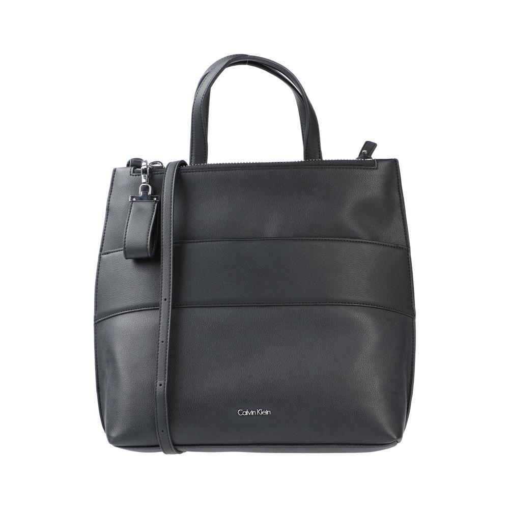 カルバンクライン CALVIN 評判 KLEIN レディース 流行 handbag Black ハンドバッグ バッグ