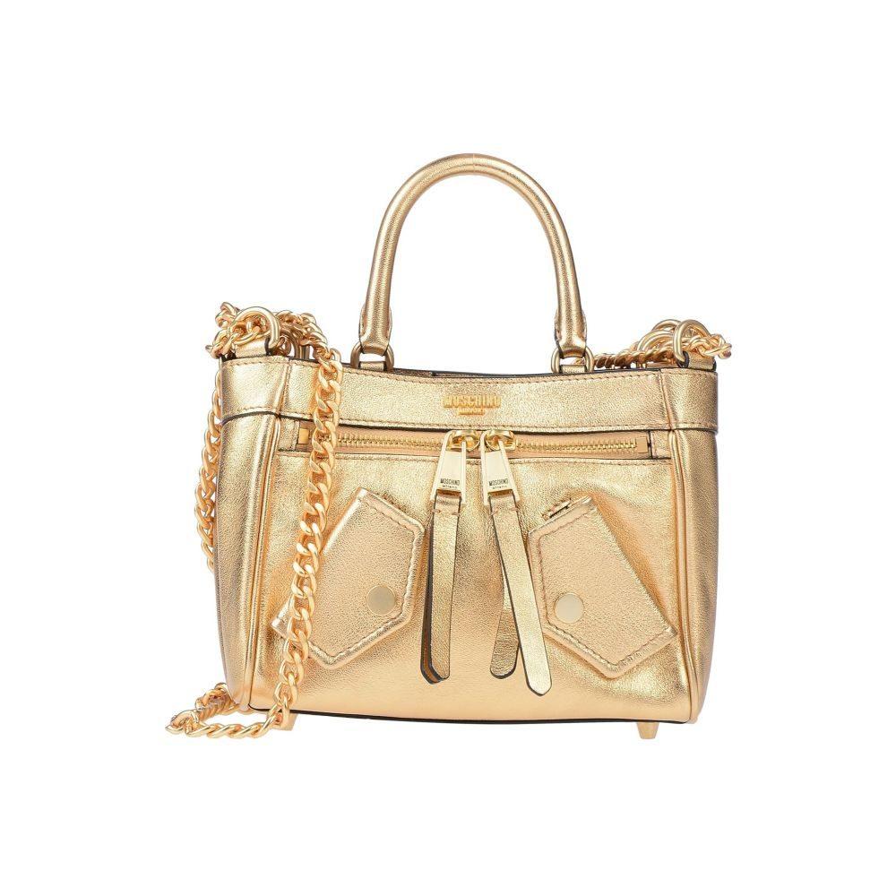 モスキーノ MOSCHINO レディース ハンドバッグ バッグ【handbag】Gold