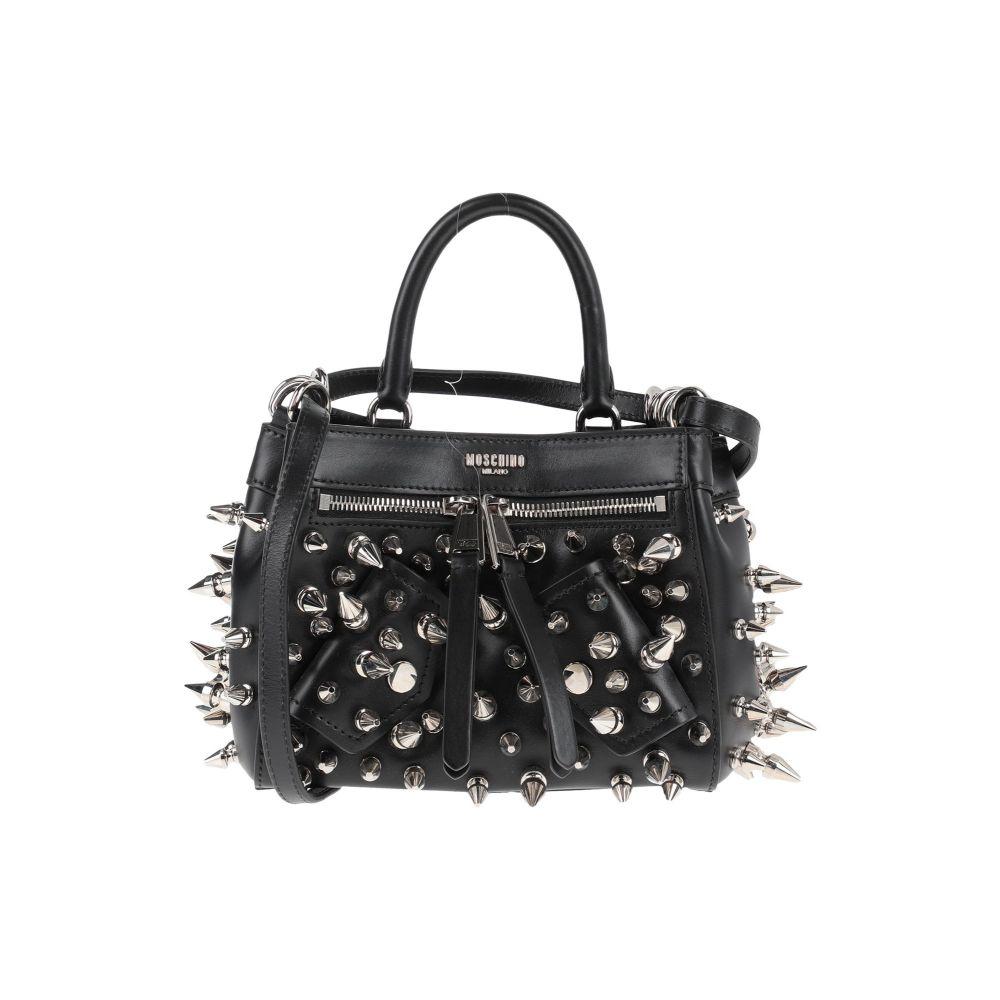 モスキーノ MOSCHINO レディース ハンドバッグ 商品追加値下げ在庫復活 バッグ 特別セール品 Black handbag