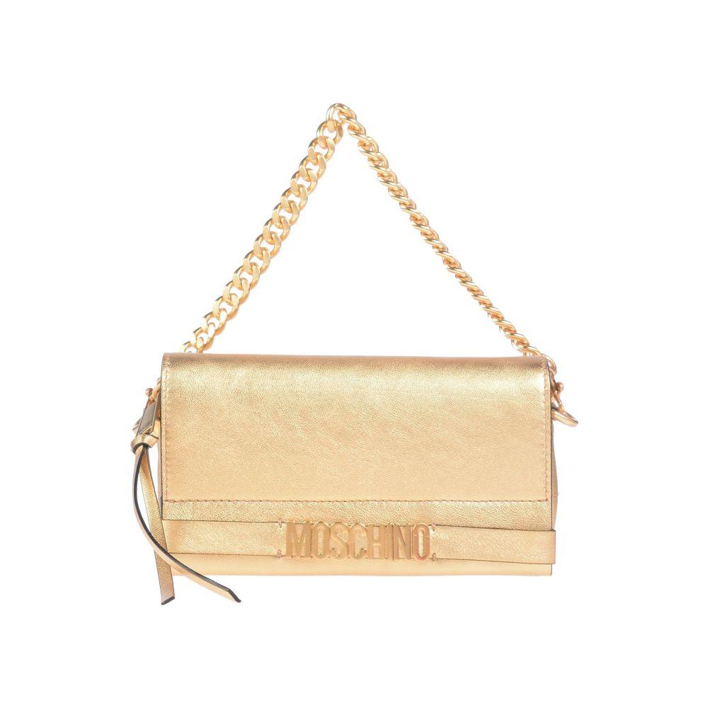 宅配便送料無料 モスキーノ MOSCHINO レディース ハンドバッグ handbag Gold 全国一律送料無料 バッグ