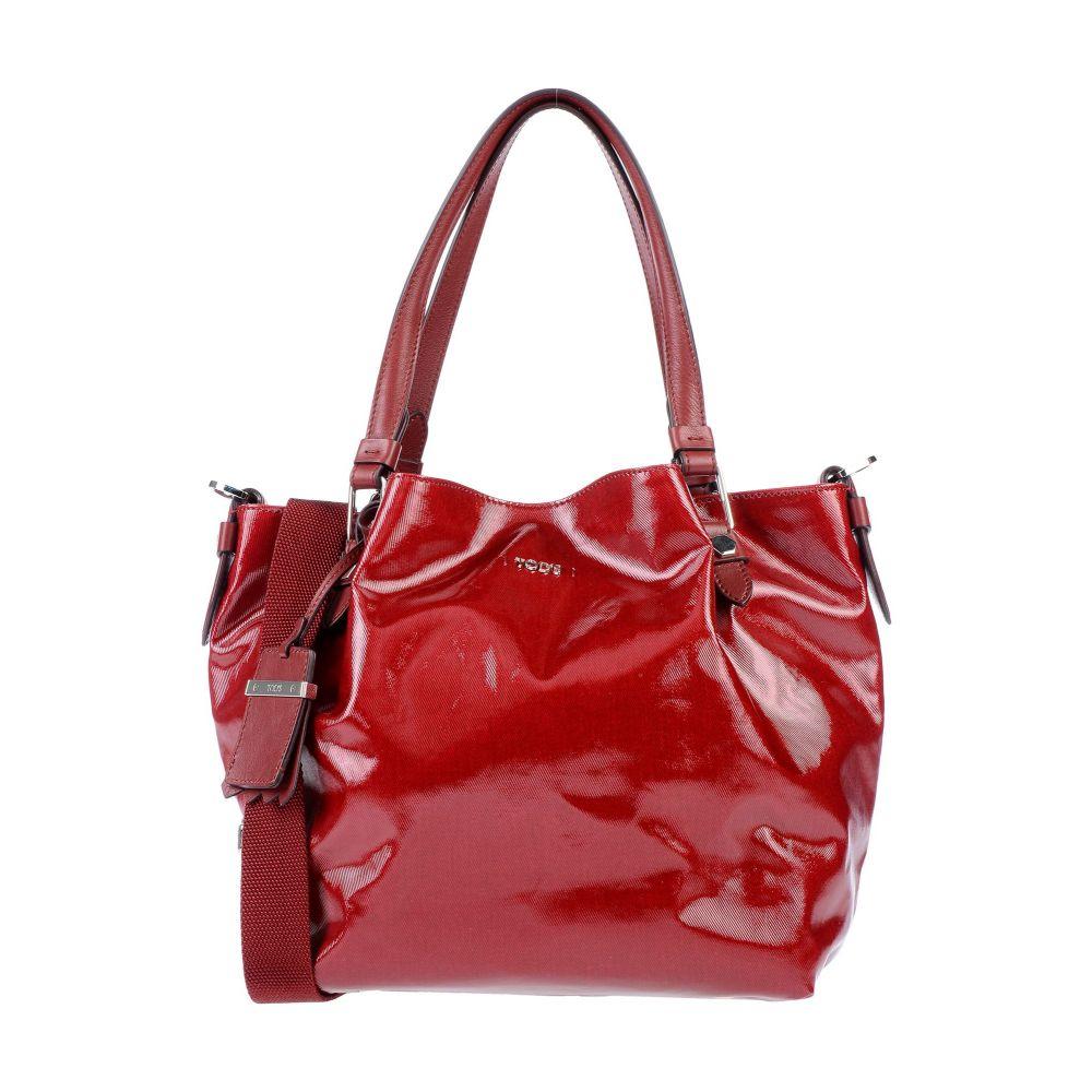 トッズ 値引き TOD'S レディース ハンドバッグ バッグ handbag 新商品 Maroon