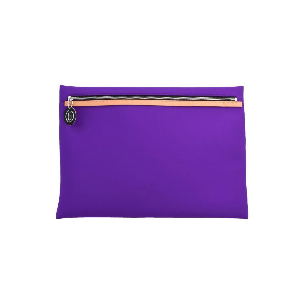 メゾン マルジェラ 在庫一掃 MM6 MAISON MARGIELA ハンドバッグ Purple バッグ handbag 新作 人気 レディース