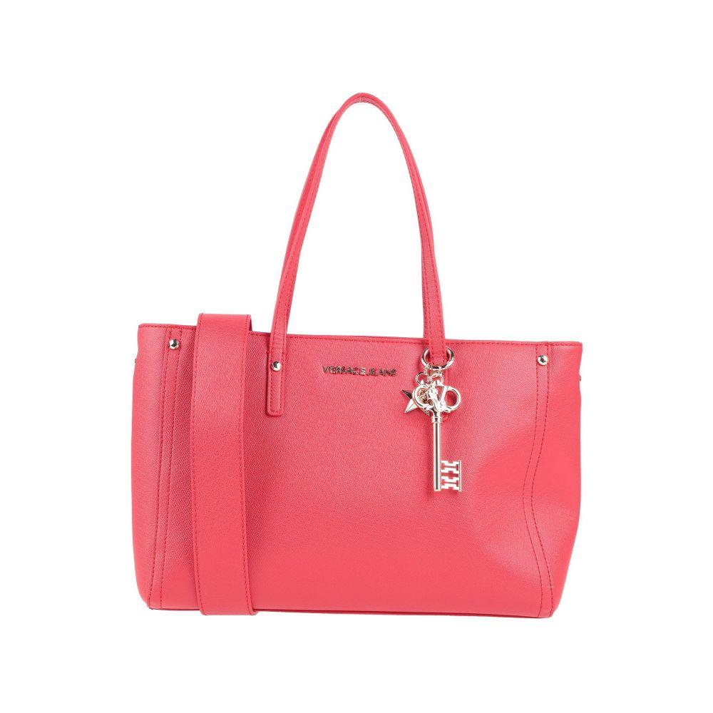 ヴェルサーチ 休日 VERSACE JEANS お得なキャンペーンを実施中 レディース handbag バッグ Red ハンドバッグ