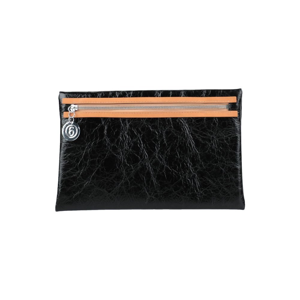メゾン マルジェラ MM6 MAISON 評判 推奨 MARGIELA レディース バッグ Black handbag ハンドバッグ