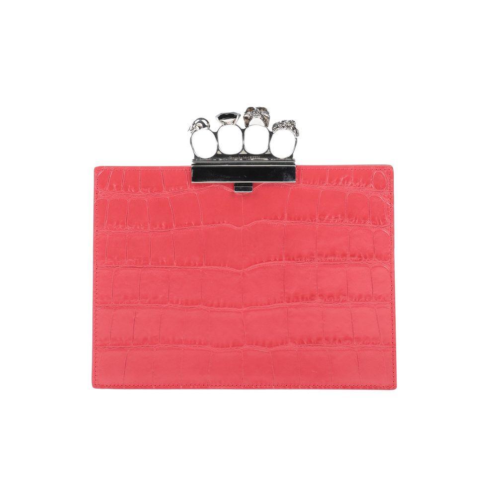 アレキサンダー マックイーン ALEXANDER メーカー在庫限り品 MCQUEEN レディース Red お得クーポン発行中 handbag ハンドバッグ バッグ