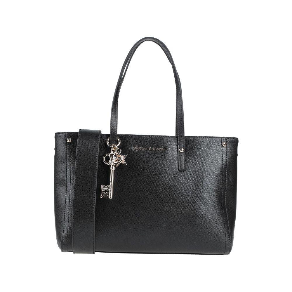 ヴェルサーチ SEAL限定商品 VERSACE JEANS レディース バッグ 高級な Black handbag ハンドバッグ