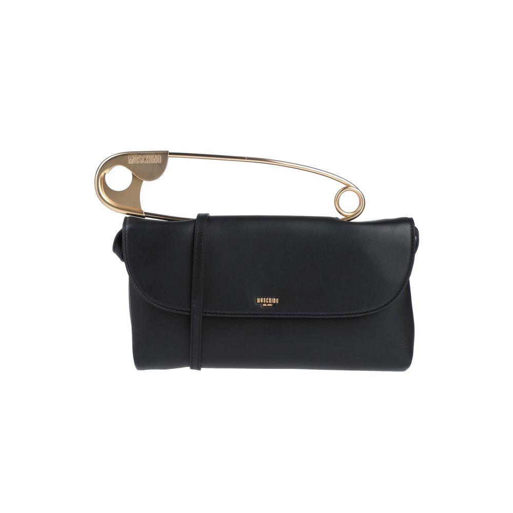 男女兼用 モスキーノ MOSCHINO レディース ハンドバッグ バッグ handbag Black 最新