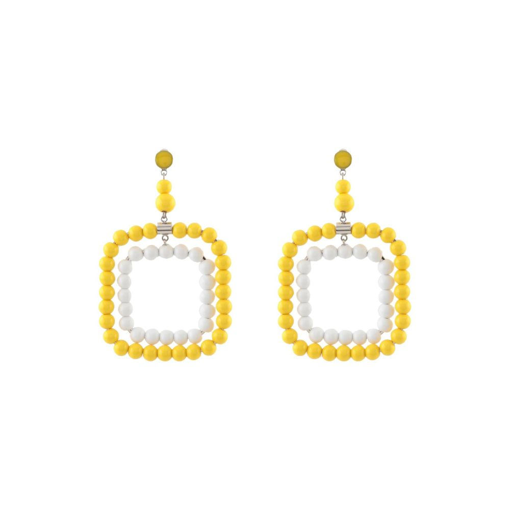 マルニ レディース ジュエリー・アクセサリー イヤリング・ピアス Yellow 【サイズ交換無料】 マルニ MARNI レディース イヤリング・ピアス ジュエリー・アクセサリー【earrings】Yellow