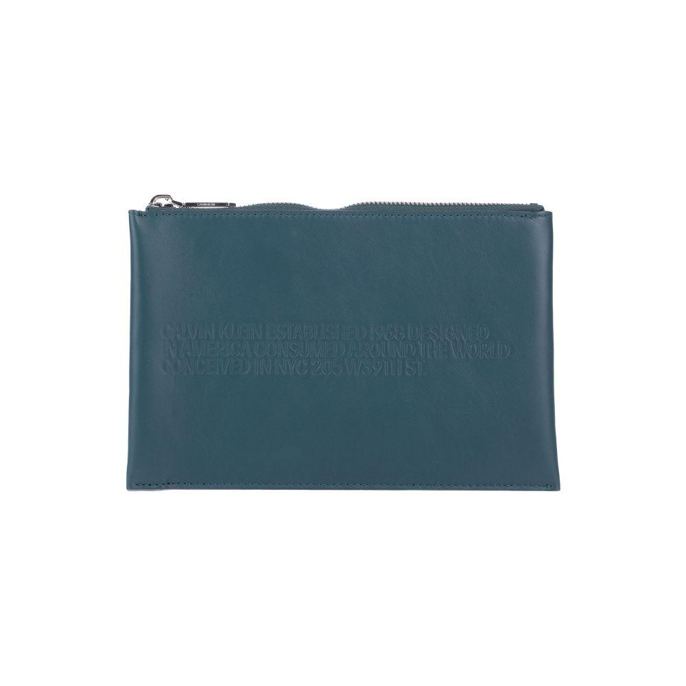 カルバンクライン CALVIN KLEIN 205W39NYC レディース ハンドバッグ バッグ【handbag】Deep jade