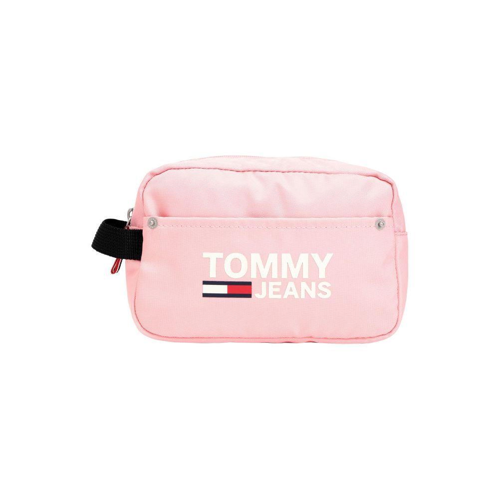 トミー ジーンズ TOMMY JEANS レディース ポーチ 【tjw cool city washba】Pink