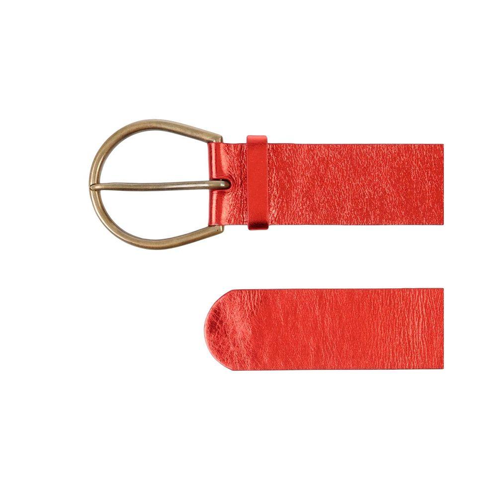 メゾン マルジェラ MAISON MARGIELA レディース ベルト 【high-waist belt】Red
