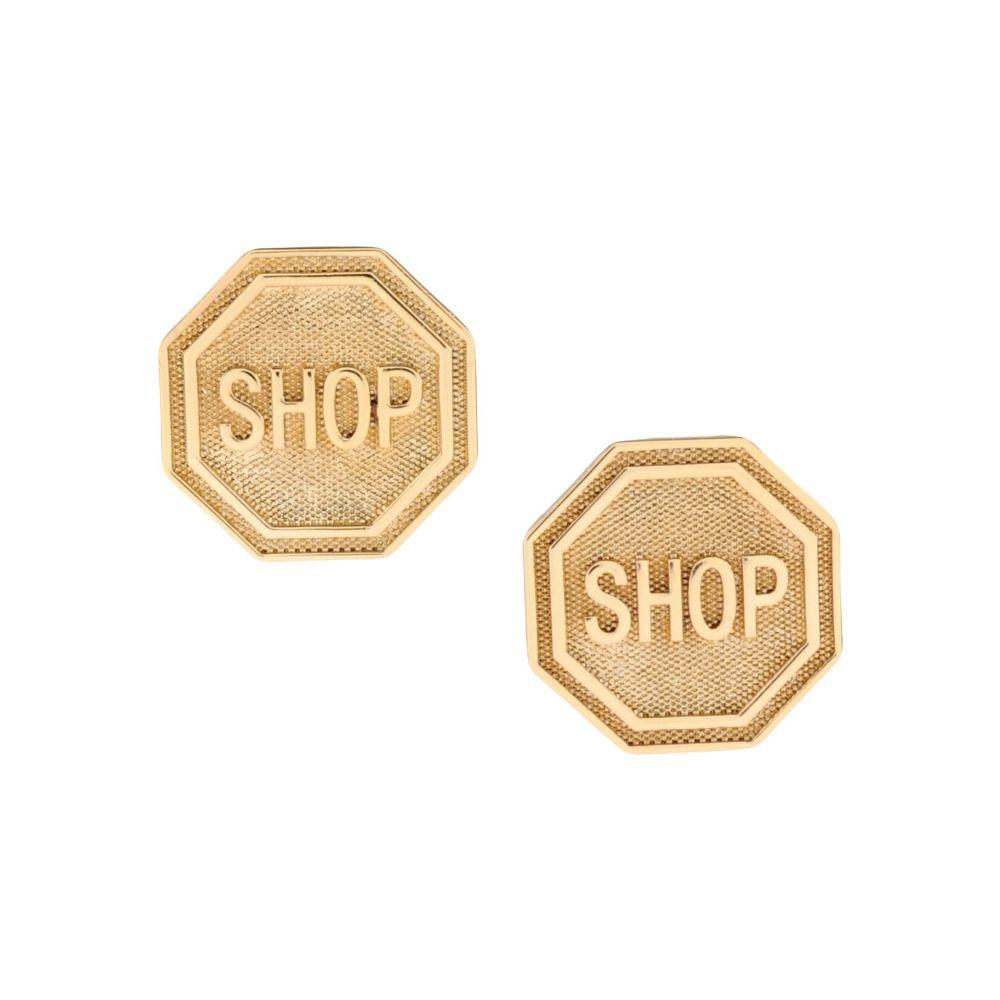 モスキーノ MOSCHINO レディース イヤリング・ピアス ジュエリー・アクセサリー【earrings】Gold