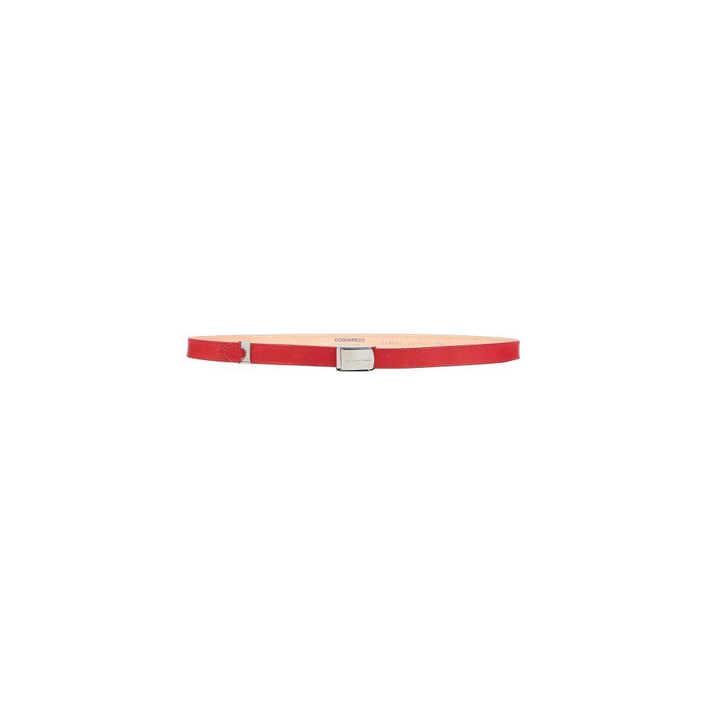 ディースクエアード DSQUARED2 レディース ベルト 【thin belt】Red