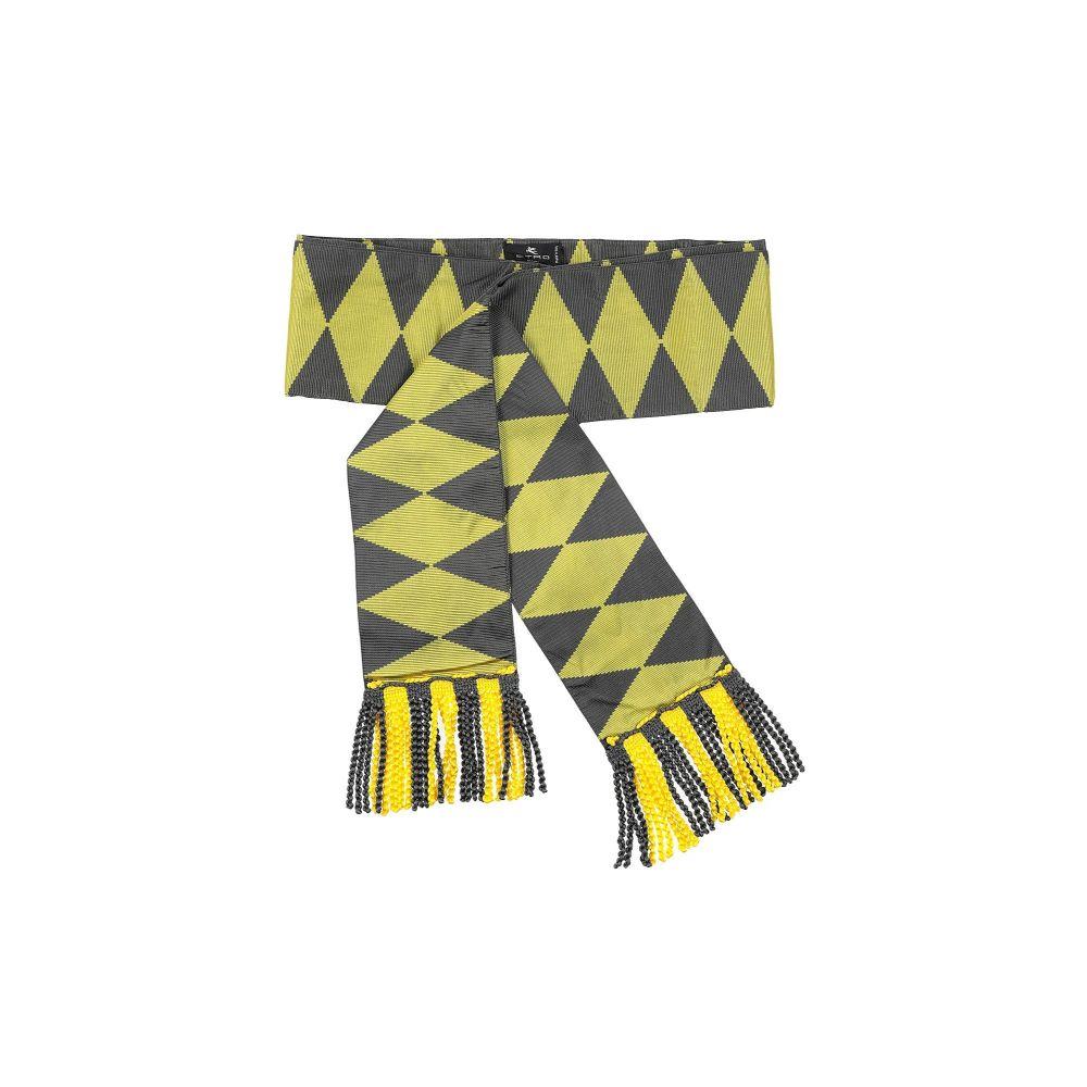 エトロ ETRO レディース ベルト 【high-waist belt】Yellow