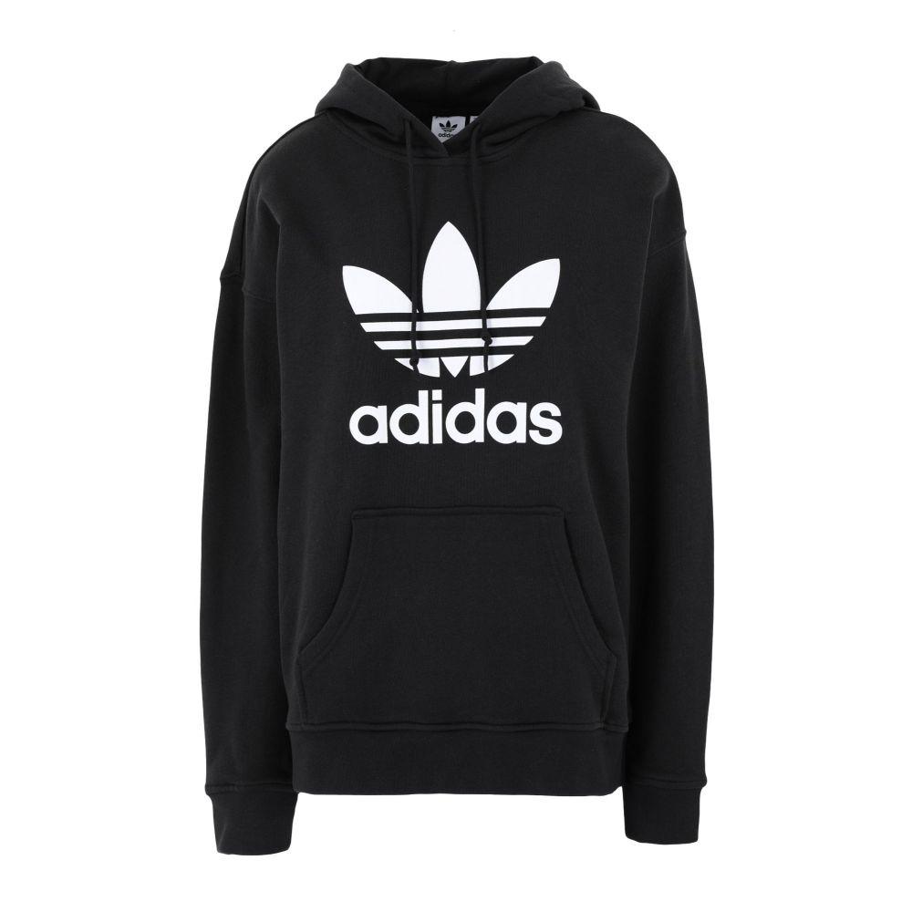 アディダス ADIDAS ORIGINALS レディース パーカー トップス【trf hoodie】Black