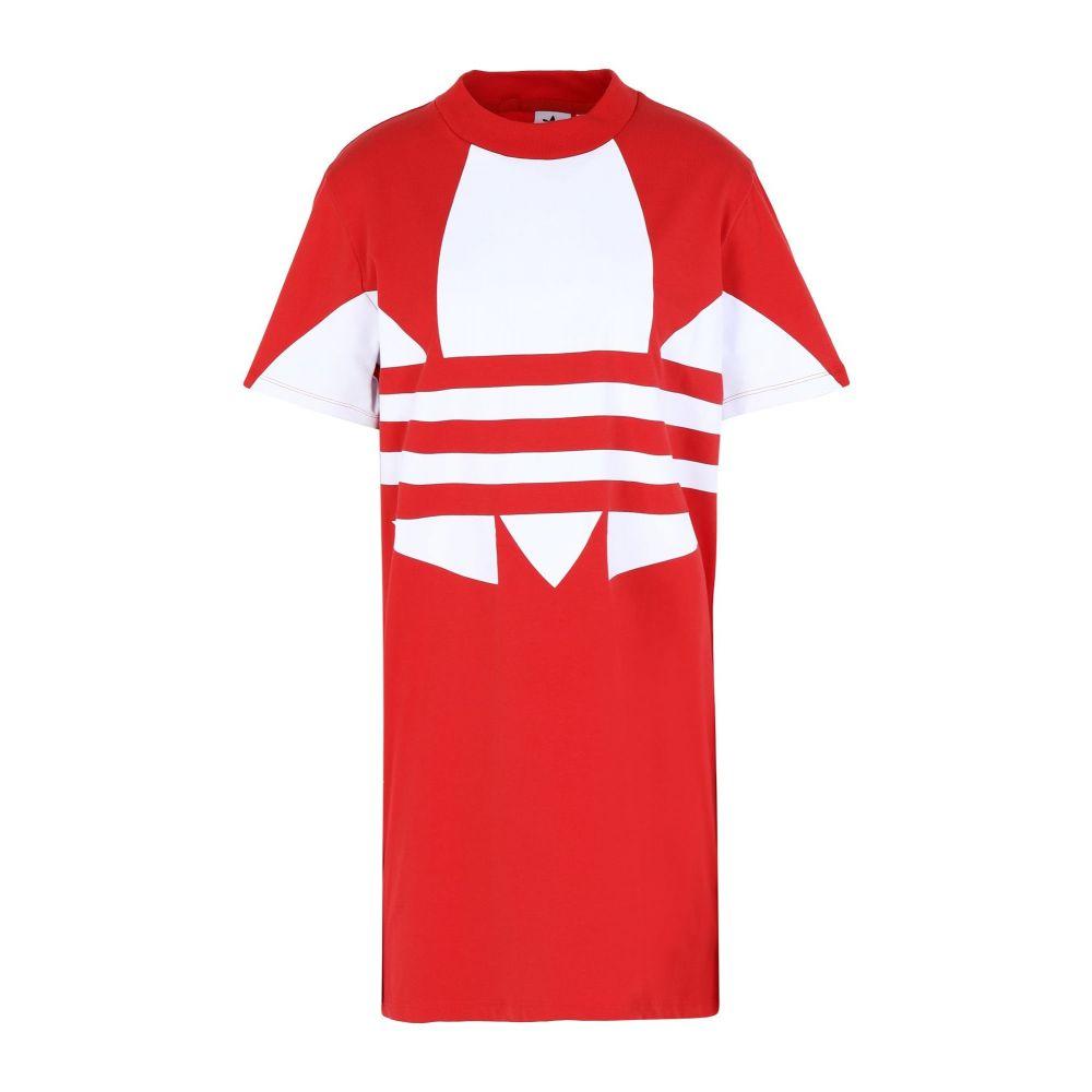 アディダス ADIDAS ORIGINALS レディース ワンピース ワンピース・ドレス【lrg logo dress short dress】Red