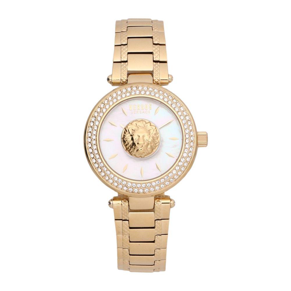 ヴェルサーチ VERSUS VERSACE レディース 腕時計 【versus brick lane wrist watch】Gold