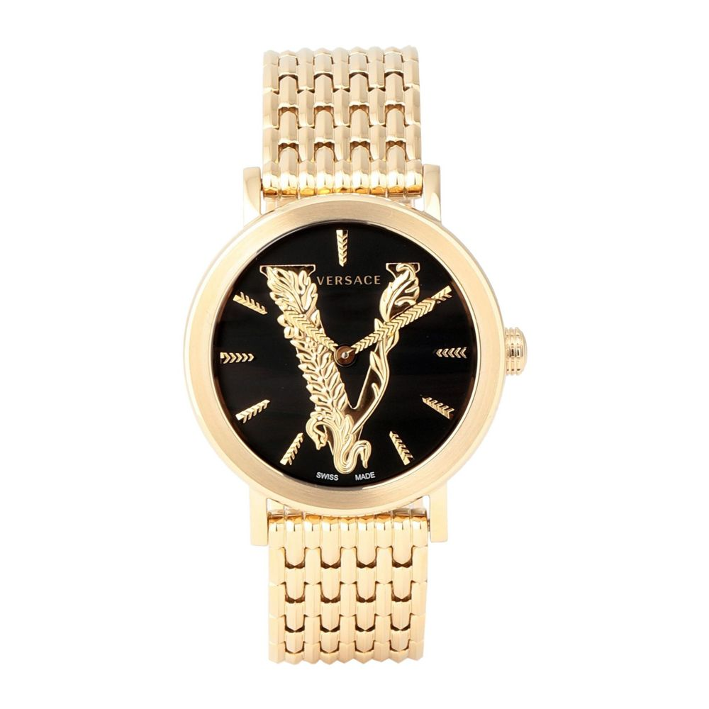 ヴェルサーチ VERSACE レディース 腕時計 【virtus wrist watch】Black