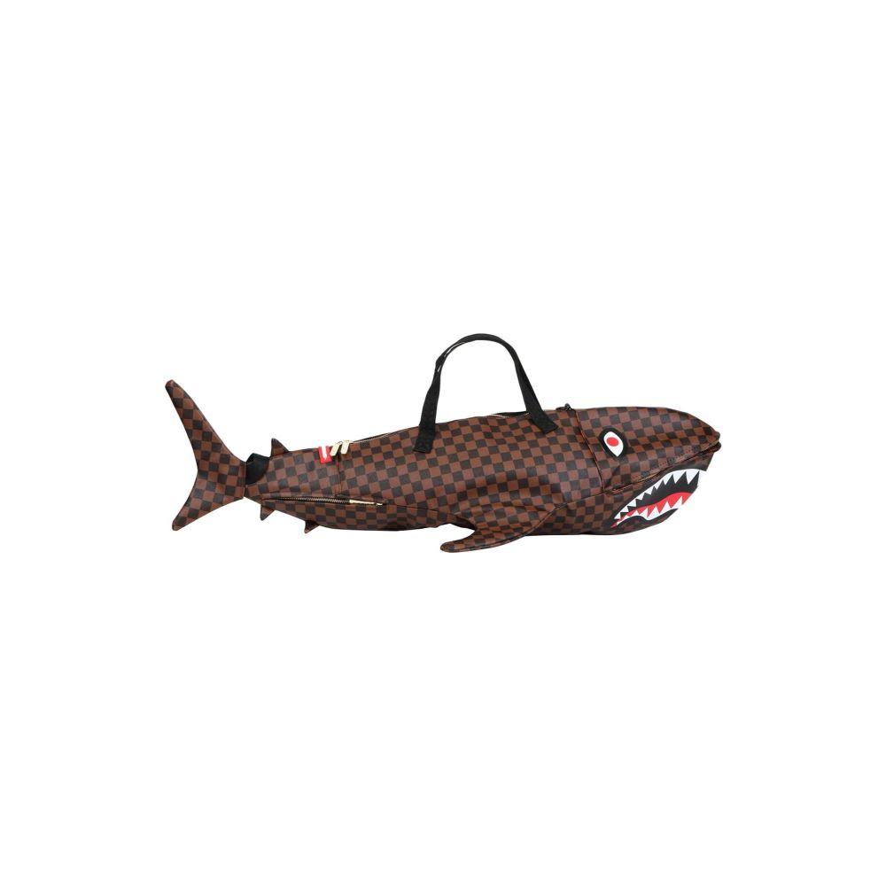 スプレイグラウンド SPRAYGROUND レディース ボストンバッグ・ダッフルバッグ バッグ【sharks in paris duffle】Dark brown