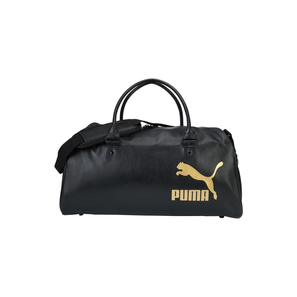 プーマ PUMA レディース ボストンバッグ・ダッフルバッグ バッグ【originals grip bag retro blac】Black