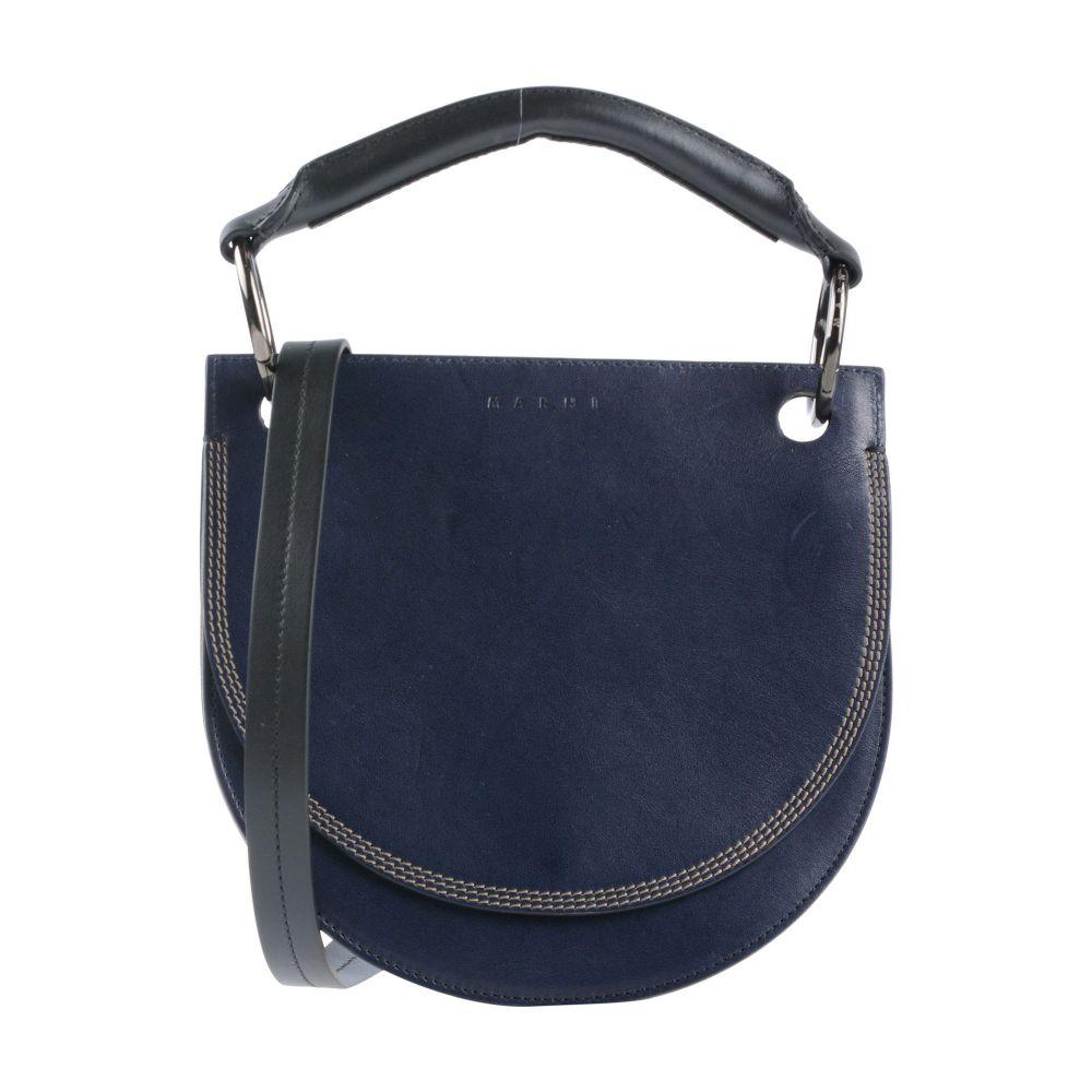 マルニ MARNI レディース ショルダーバッグ バッグ【cross-body bags】Dark blue