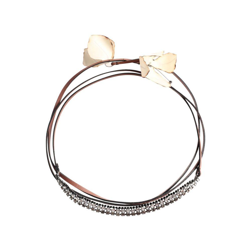 マルニ MARNI レディース ネックレス ジュエリー・アクセサリー【necklace】Tan