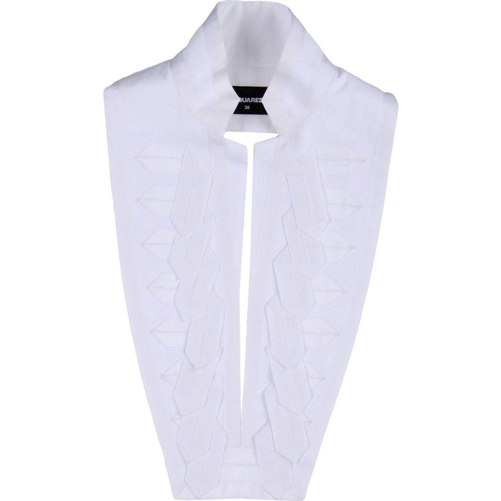 超人気 ディースクエアード DSQUARED2 レディース マフラー・スカーフ・ストール 【scarves】White, ブランベント f851129b