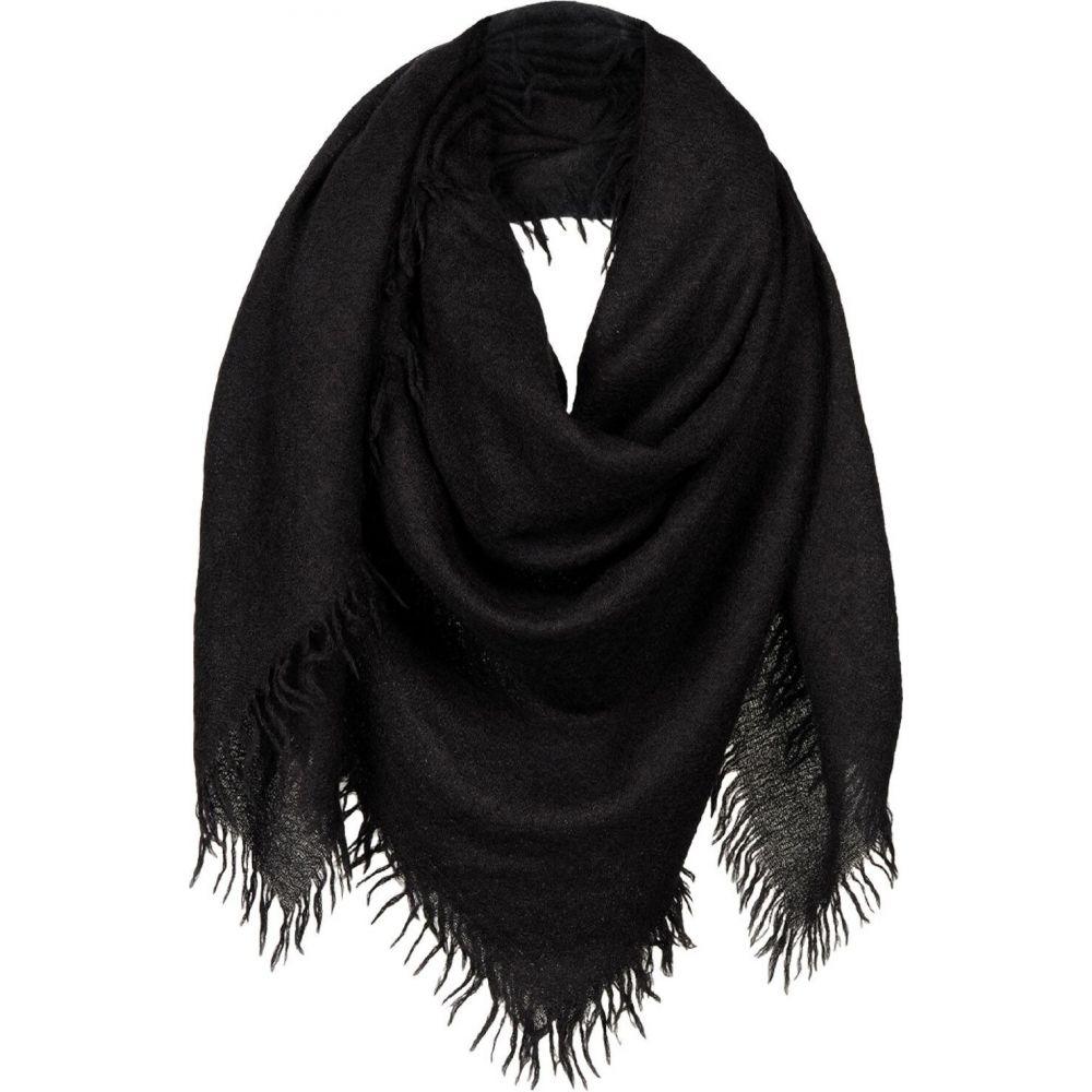 リック オウエンス RICK OWENS レディース マフラー・スカーフ・ストール 【square scarf】Black