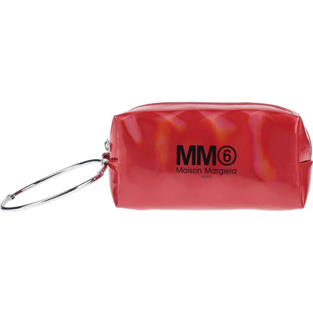 メゾン マルジェラ MM6 MAISON MARGIELA レディース ポーチ 【beauty case】Red