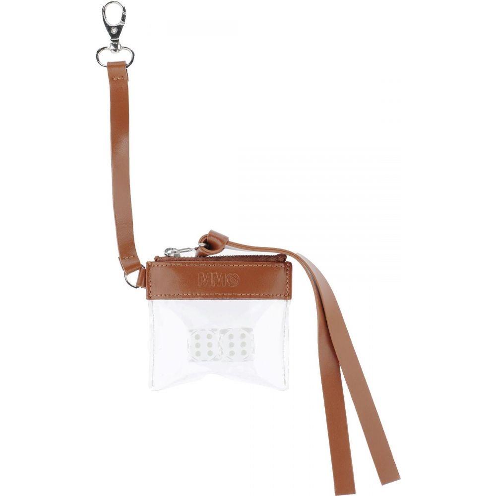 メゾン マルジェラ MM6 MAISON MARGIELA レディース キーホルダー 【key ring】Brown