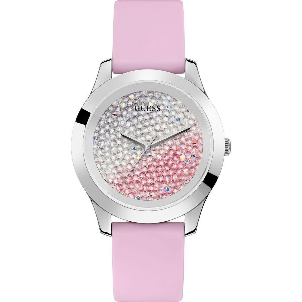 ゲス GUESS レディース 腕時計 【crush wrist watch】Pink