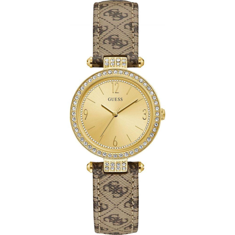 ゲス GUESS レディース 腕時計 【terrace wrist watch】Beige