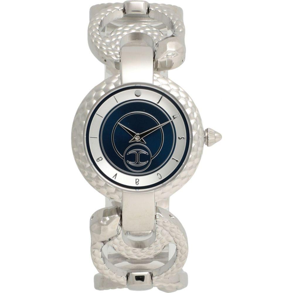 ジャスト カヴァリ JUST CAVALLI レディース 腕時計 ブレスレットウォッチ【watch and bracelet set wrist watch】Silver