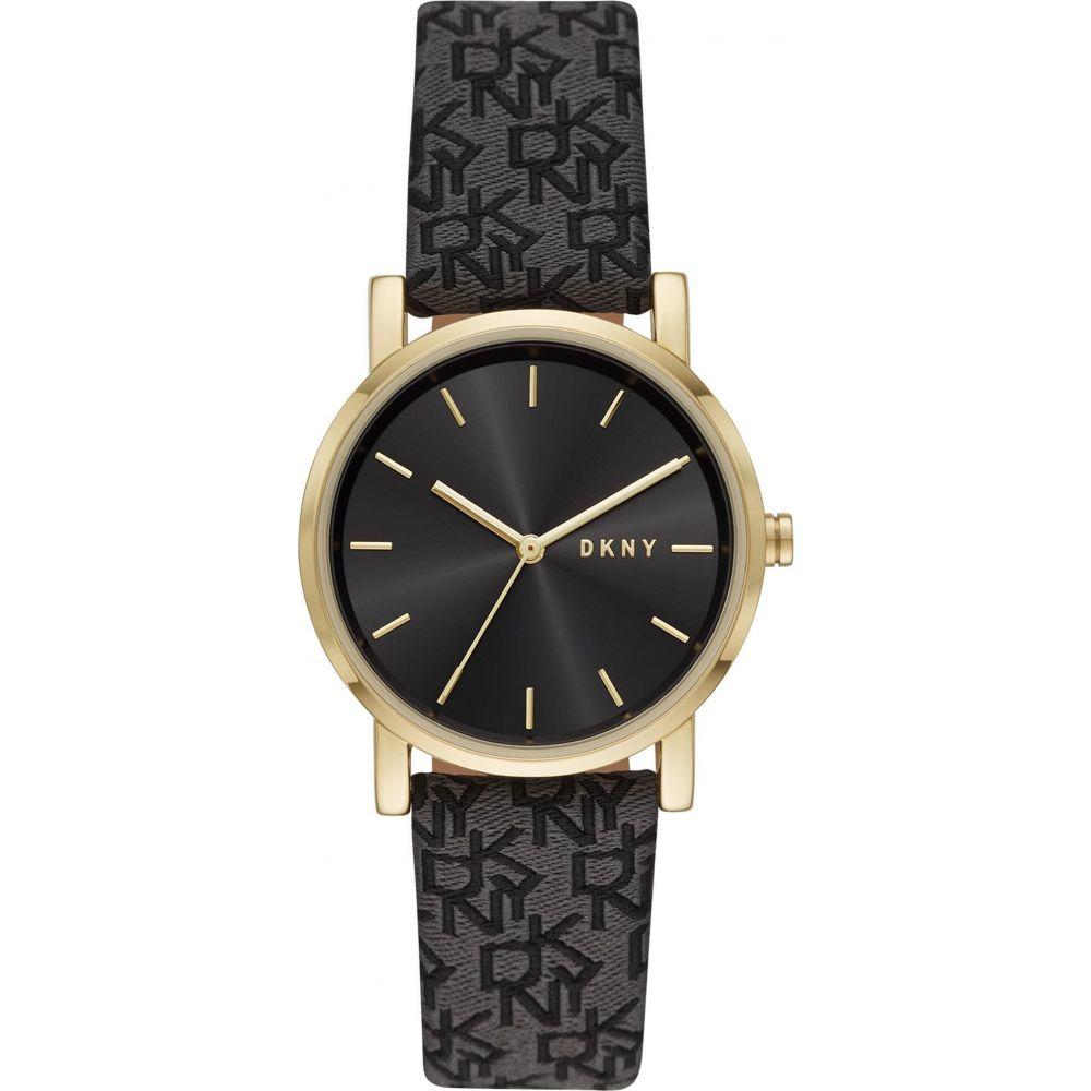 ダナ キャラン ニューヨーク DKNY レディース 腕時計 【soho wrist watch】Black