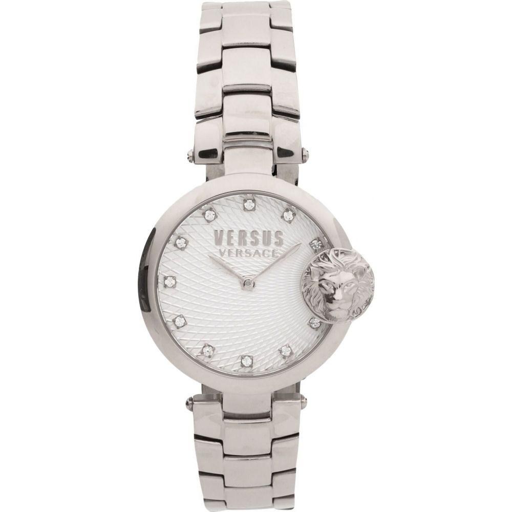 ヴェルサーチ VERSUS VERSACE レディース 腕時計 【versus buffle bay wrist watch】Silver