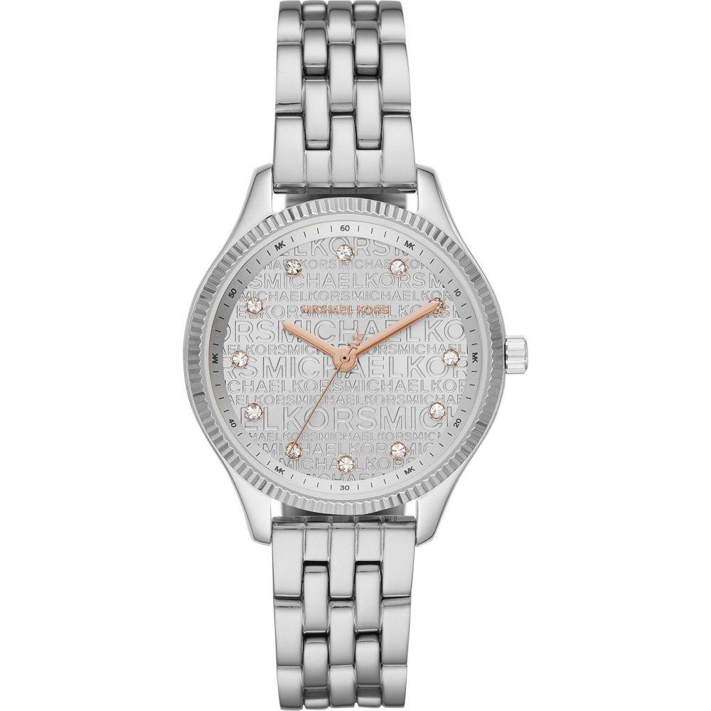 マイケル コース MICHAEL KORS レディース 腕時計 【lexington wrist watch】Silver