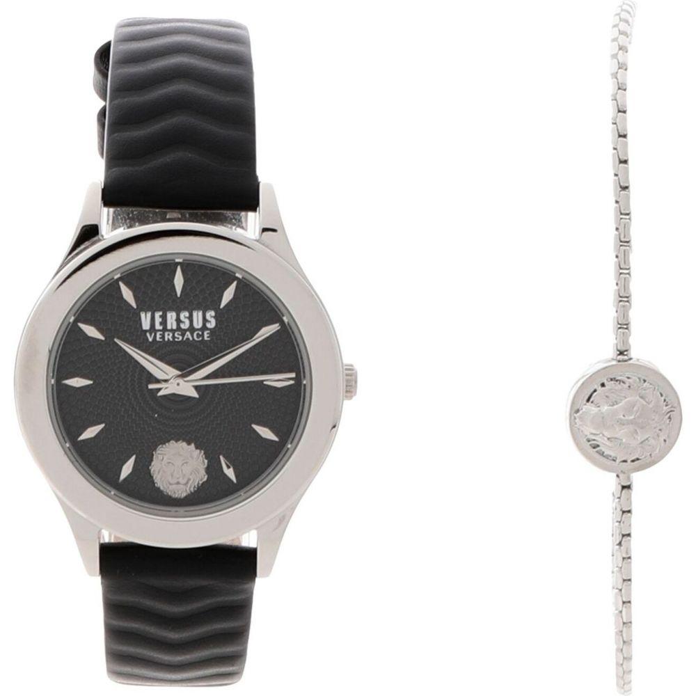 ヴェルサーチ VERSUS VERSACE レディース 腕時計 ブレスレットウォッチ【watch and bracelet set wrist watch】Silver