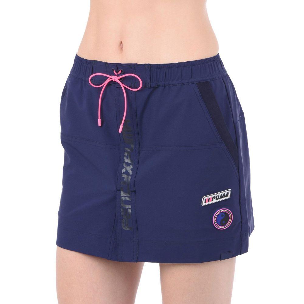 プーマ FENTY PUMA by RIHANNA レディース ミニスカート スカート【board skirt mini skirt】Dark blue