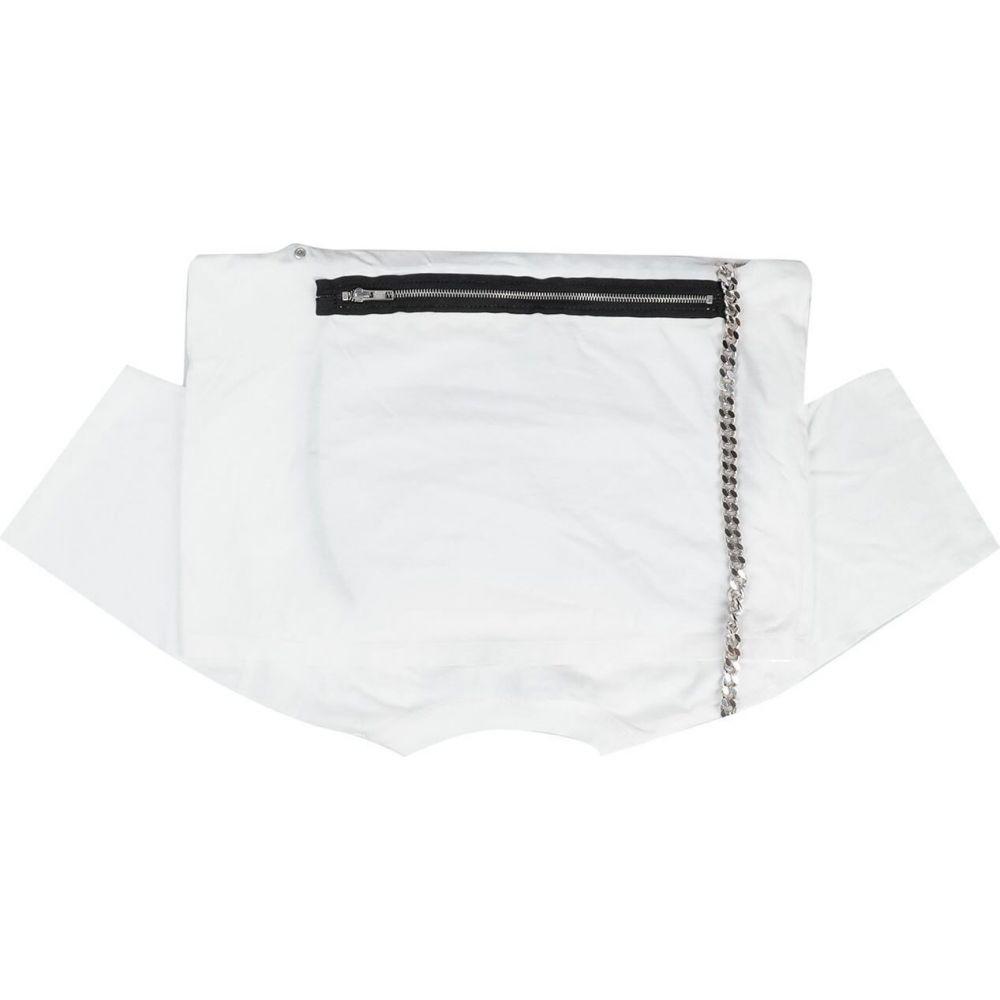メゾン マルジェラ MM6 MAISON MARGIELA レディース ショルダーバッグ バッグ【cross-body bags】White
