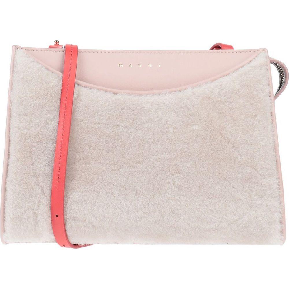 マルニ MARNI レディース ショルダーバッグ バッグ【cross-body bags】Light pink