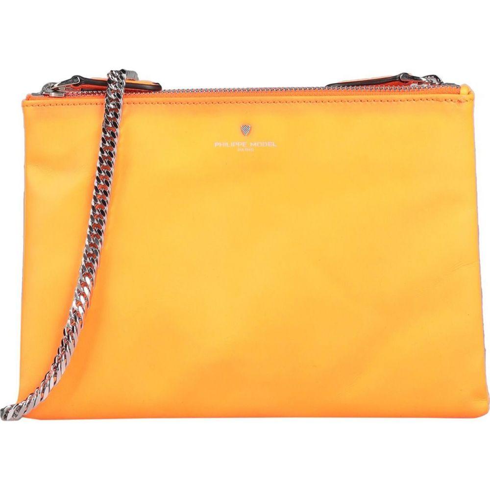 フィリップモデル PHILIPPE MODEL レディース ショルダーバッグ バッグ【cross-body bags】Orange