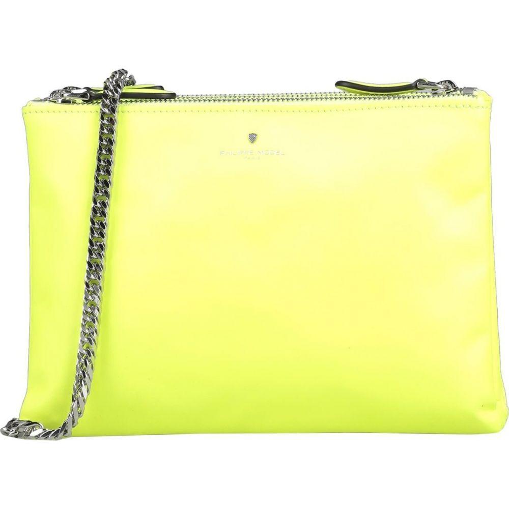 フィリップモデル PHILIPPE MODEL レディース ショルダーバッグ バッグ【cross-body bags】Yellow