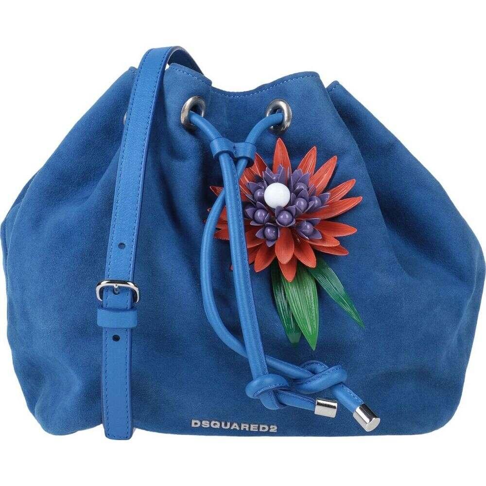 ディースクエアード DSQUARED2 レディース ショルダーバッグ バッグ【cross-body bags】Blue