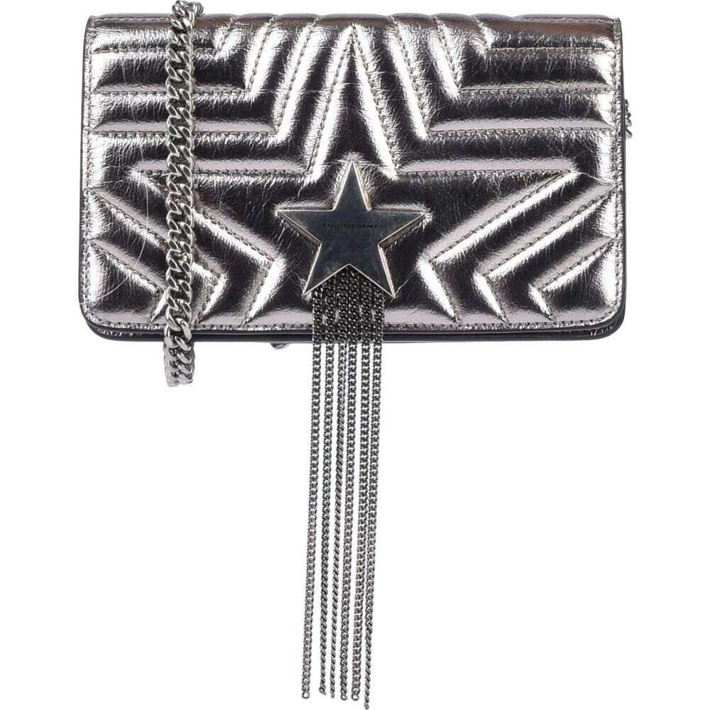ステラ マッカートニー STELLA McCARTNEY レディース ショルダーバッグ バッグ【cross-body bags】Silver