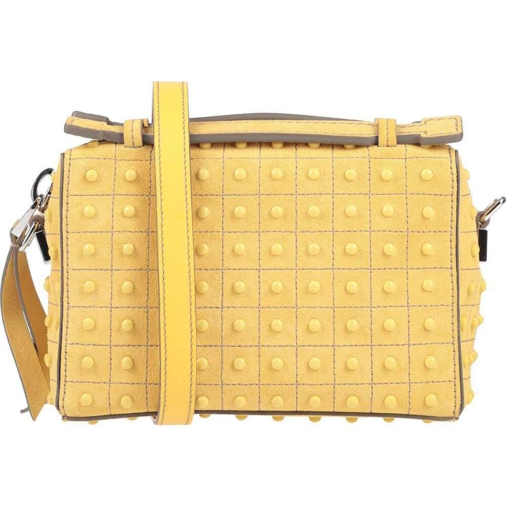 トッズ TOD'S レディース ショルダーバッグ バッグ【cross-body bags】Yellow