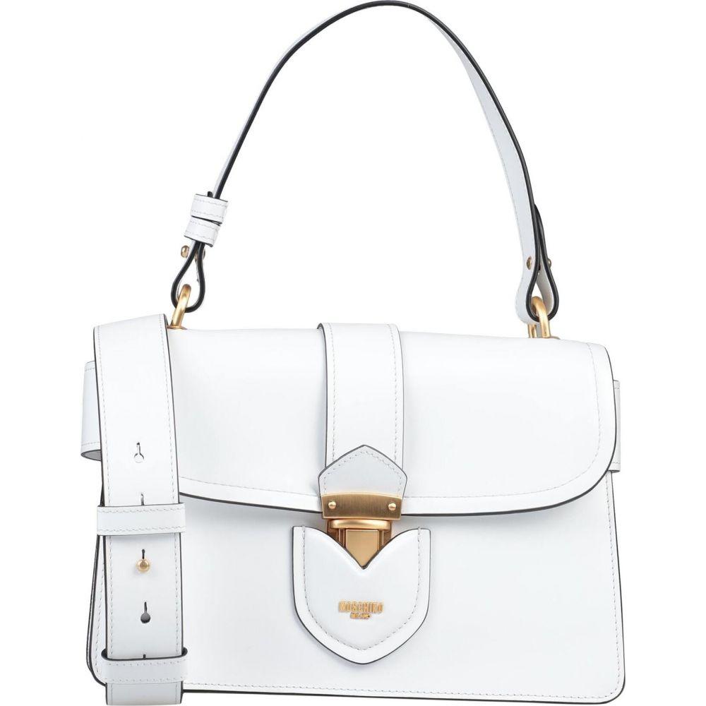 モスキーノ MOSCHINO レディース ショルダーバッグ バッグ【cross-body bags】White