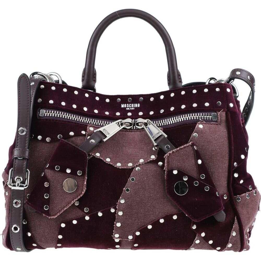 モスキーノ MOSCHINO レディース ショルダーバッグ バッグ【cross-body bags】Deep purple